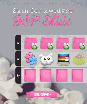 Skin for xwidget Slide Pink by Isfe