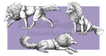 .Chatland Freebies. Spiky Woofs by ScarlettFeather