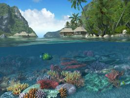 coral reef 4 by indigodeep