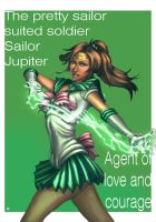 Sailor Jupiter comicon print by cric