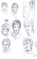 Merlin- sketches by nokitiira