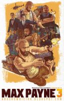Max Payne 3 Poster Fan art by abacrombieink