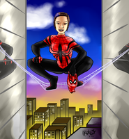 The Amazing Spider-Girl by cactuarZrule