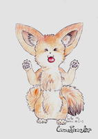 Here is a fennec fox! by CozmicTraveler