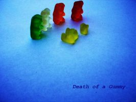 Death of a Gummy by brittany-chan
