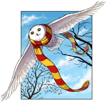 Another Owl by Krisantyne