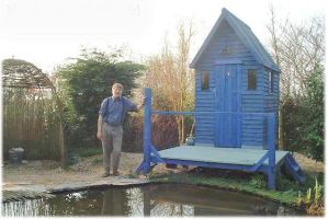 Me My Pond No3. My Hut by sags