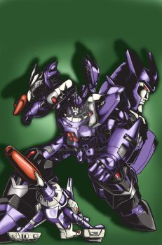 Galvatron by puebloone