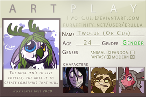 Artplay ID by two-cue