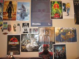My poster wall 2 by Rapt3rX
