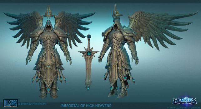 Heaven Immortal Hipoly by FirstKeeper