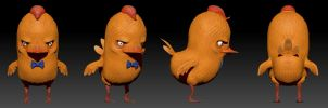 Peppino in zbrush by Hare-Bo