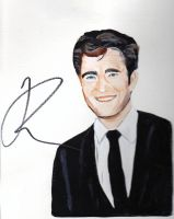 Robert Pattinson signed by Robert Pattinson by audamay