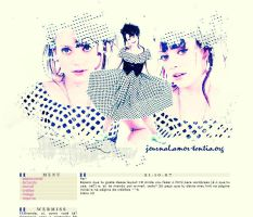 Lily Allen Layout by shootiingstars