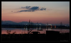 Cagliari Night II by MabusOWP