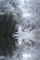 Snowing Accrington by mantronica