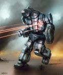 Mech Warrior - Infighter by Shimmering-Sword