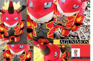 Agunimon Plushie - Digimon Frontier by plooshieS2