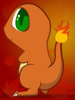 Charmander by KaidaTheDragon