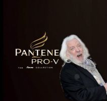 President Snow's Pantene Shampoo Ad by FlutteringPhalanges