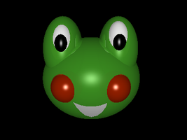 Froggy Head by ToadsDontExist