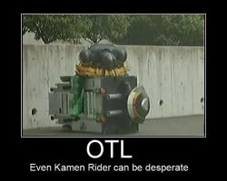 Demotivational Poster : OTL by lycans
