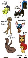 WWE animals by Shini-Smurf