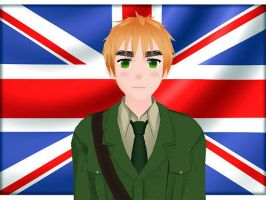 MMD Hetalia model:England by Ash080897