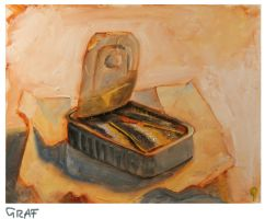 Bernhard Graf A6 1h still life sardines02 by theartdepartment