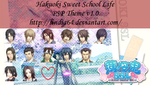 Hakuoki Sweet School Life PSP Theme v1.0 by sindia64