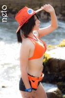 Ace D.Portgas - female - by dashcosplay
