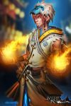 BRL: Fire Mage by dinmoney
