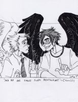 Good Omens - Sushi by T3h-Mali