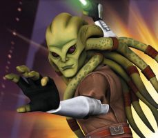 Kit Fisto ID by cad0bane