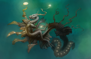 Sea Dragon by AshiRox