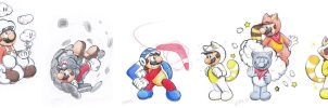 Mario Forms 27-32 by Creation7X24