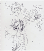 July Doodles 2014:The Twenty-Sixth:West Side Story by RosyAutumn
