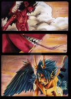 angels and monsters page by EatToast