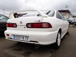 Honda Integra type R - rearview by UltraMagnus72