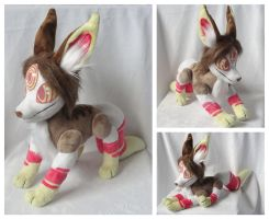 Hound Plushie by foxpill