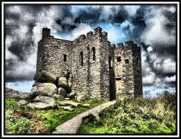 Carn Brea Castle 1 by mjharps