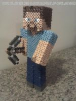 3D Guy from Minecraft by PixelSculptures