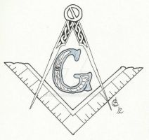 Square and Compasses by griffarion