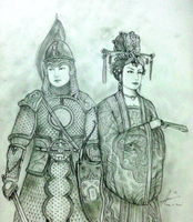 The Wu Twins of Hua Empire by Gambargin