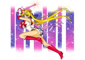 Super Sailor Moon by Fulvio84