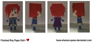 Roy: Paper Doll by haos-shaman-queen