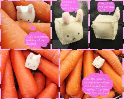Cubed Bunny Plush by shockingsid