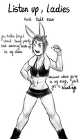 Boxing Instructor by MaryLittleRose