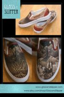 Marauder Shoes COMPLETE by theartful-dodge