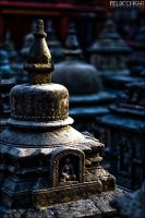 Little Stupas by FelixTo